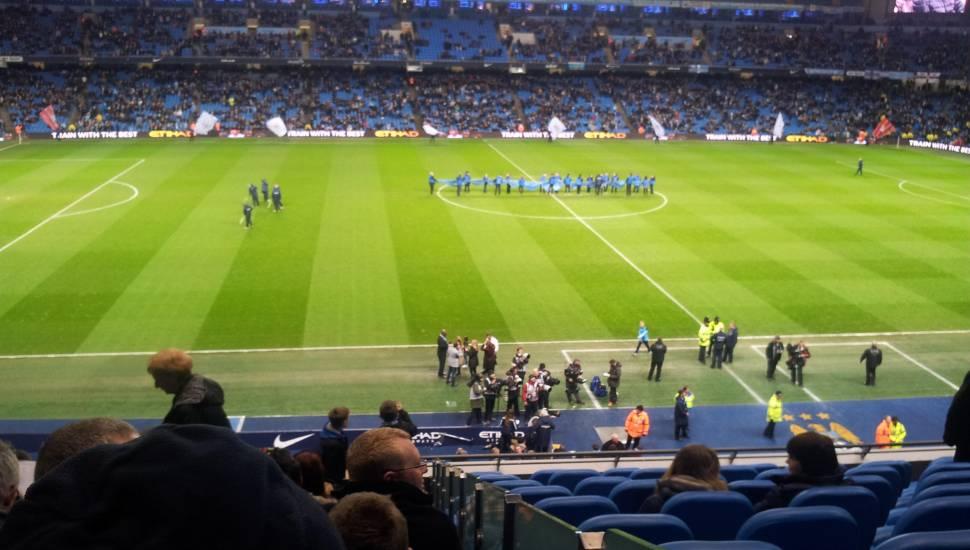 Etihad Stadium (Manchester),  Section <strong>M</strong>, Row <strong>EE</strong>, Seat <strong>264</strong>