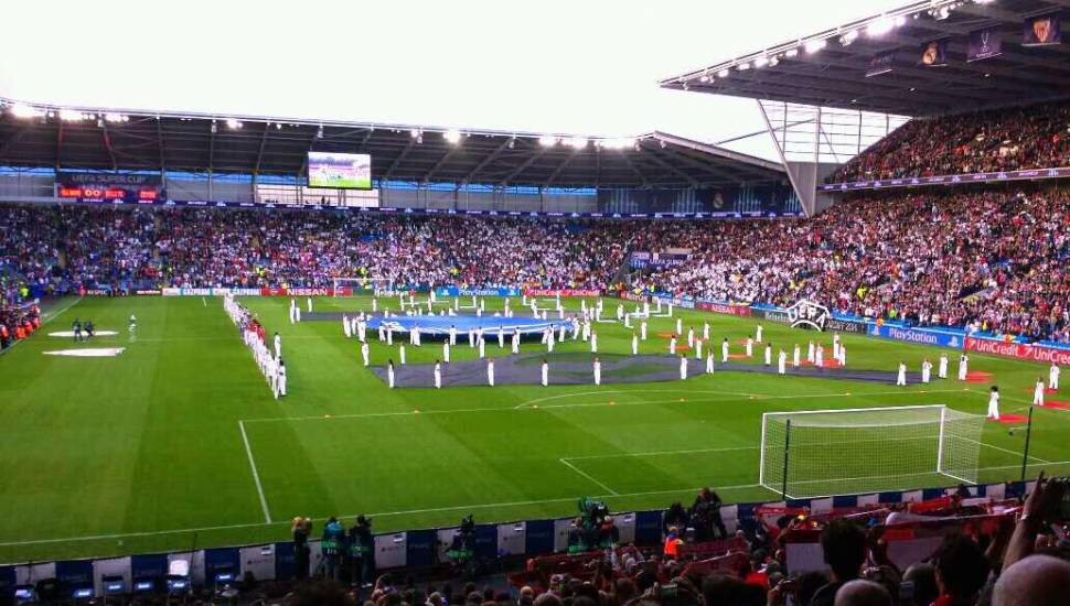 Cardiff City Stadium,  Section <strong>32</strong>, Row <strong>LL</strong>, Seat <strong>10</strong>