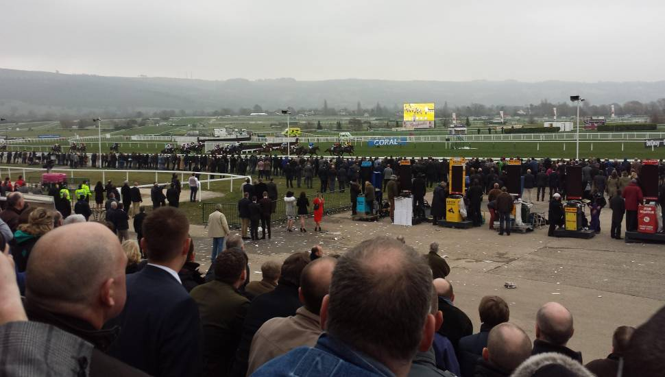 Cheltenham Racecourse,  Section <strong>L28</strong>, Row <strong>10</strong>, Seat <strong>21</strong>