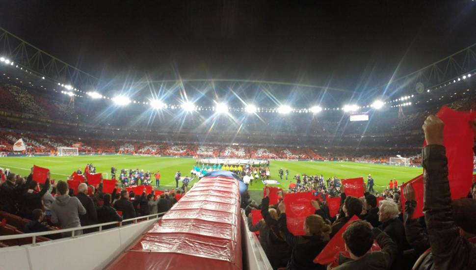 Emirates Stadium,  Section <strong>N1407</strong>, Row <strong>BB</strong>, Seat <strong>55</strong>