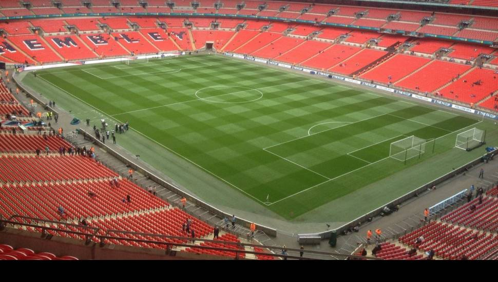 Wembley Stadium,  Section <strong>L28</strong>, Row <strong>15</strong>, Seat <strong>14</strong>