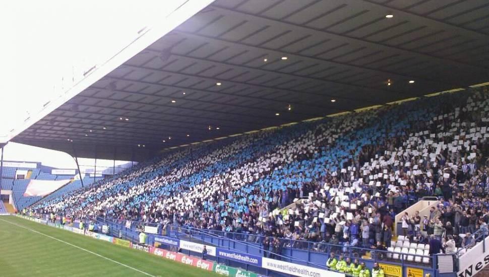Hillsborough Stadium,  Section <strong>JL5</strong>, Row <strong>B</strong>, Seat <strong>140</strong>