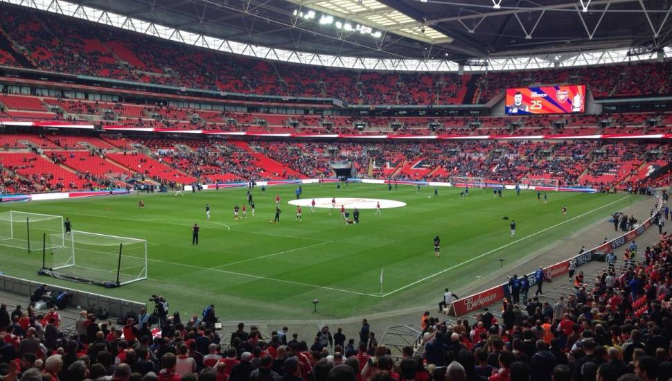 Wembley Stadium,  Section <strong>217</strong>, Row <strong>E</strong>, Seat <strong>20</strong>