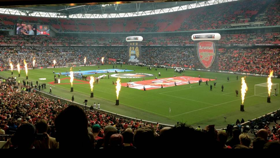 Wembley Stadium,  Section <strong>544</strong>, Row <strong>7</strong>, Seat <strong>135</strong>
