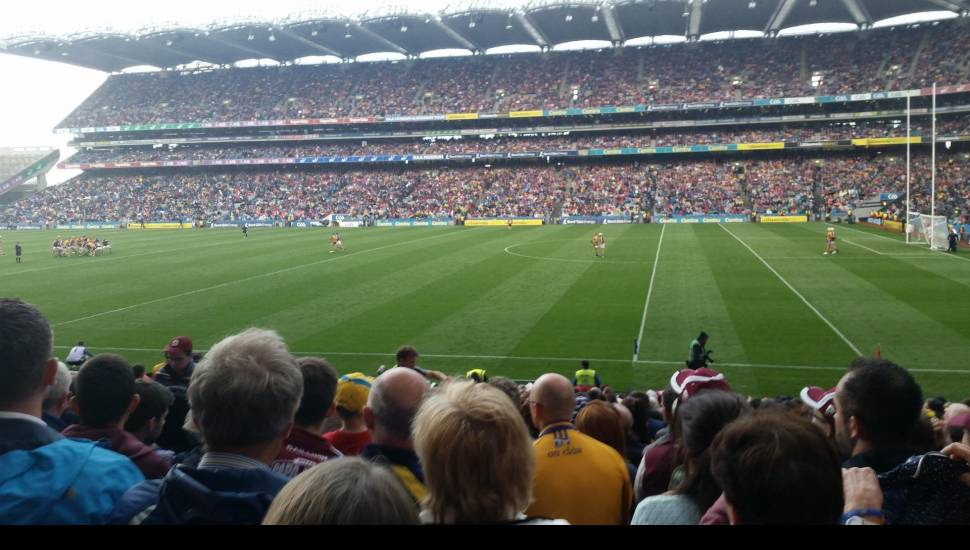 Croke Park,  Section <strong>WL4</strong>, Row <strong>J</strong>, Seat <strong>94</strong>