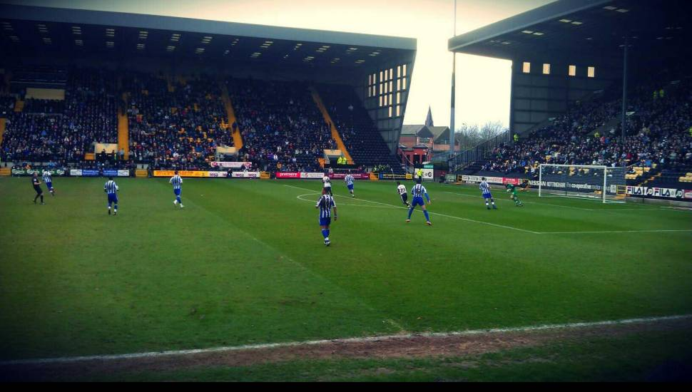 Meadow Lane,  Section <strong>The Shed</strong>, Row <strong>Stand</strong>, Seat <strong>Stand</strong>