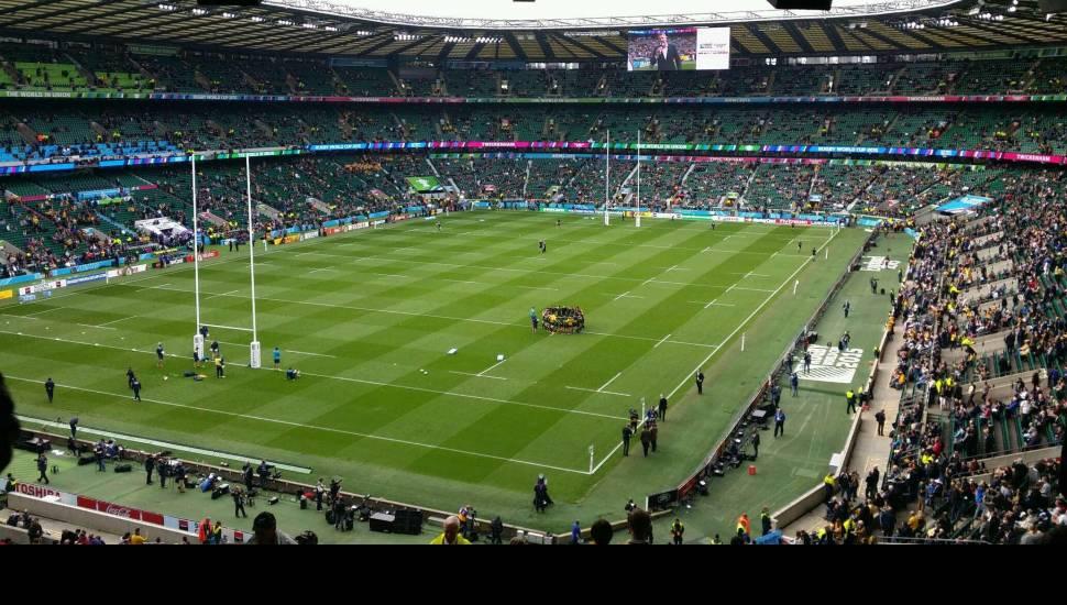 Twickenham Stadium,  Section <strong>A2</strong>, Row <strong>SS</strong>, Seat <strong>20</strong>