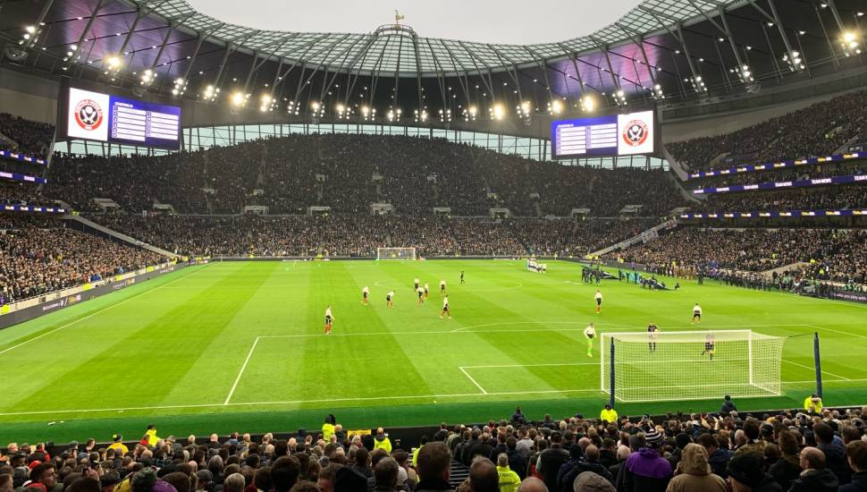 Tottenham Hotspur Stadium,  Section <strong>N1407</strong>, Row <strong>BB</strong>, Seat <strong>55</strong>