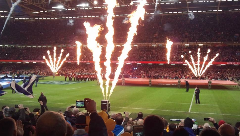 Principality Stadium,  Section <strong>Hamil Road Stand</strong>