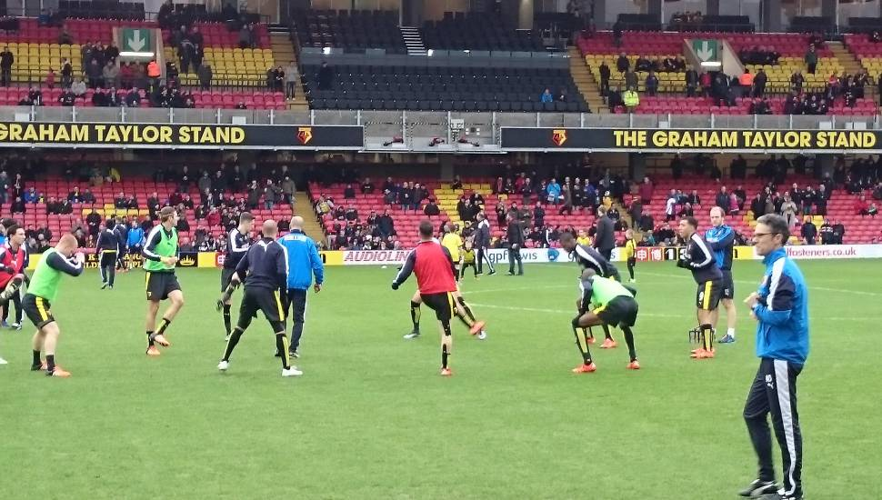 Vicarage Road,  Section <strong>M</strong>