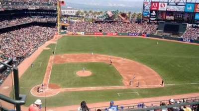 AT&T Park, section: 310, row: 1, seat: 18