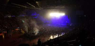 The Forum, section: 204, row: 9, seat: 11