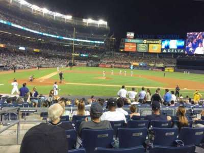 Yankee Stadium, section: 117A, row: 17, seat: 16