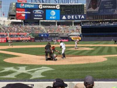 Yankee Stadium, section: 019, row: 5 , seat: 6