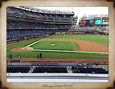Yankee Stadium, section: 216, row: 1, seat: 7