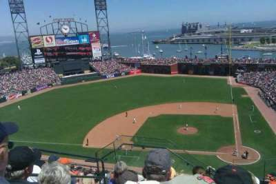 AT&T Park, section: 323, row: J, seat: 4