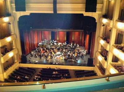 Bass Performance Hall, section: Lower Gallery, row: B, seat: 28