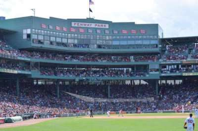Fenway Park, section: 42, row: 1, seat: 16
