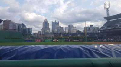 PNC Park, section: 27, row: A, seat: 9