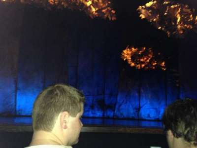 Broadhurst Theatre, section: Orchestra, row: BB, seat: 103