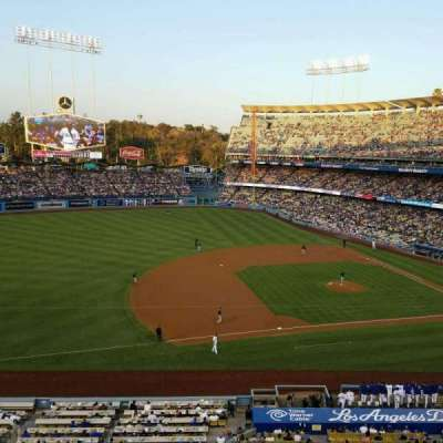 DODGER STADIUM section 23RS