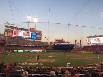 Great American Ball Park, section: 24, row: G, seat: 8