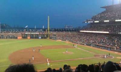 AT&T Park, section: 224, row: I, seat: 10