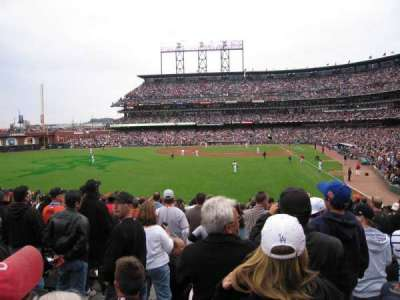 AT&T Park section 136