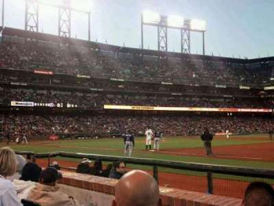 AT&T Park, section: LB105, row: 3, seat: 14