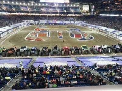 Ford Field, section: 242, row: 1, seat: 26