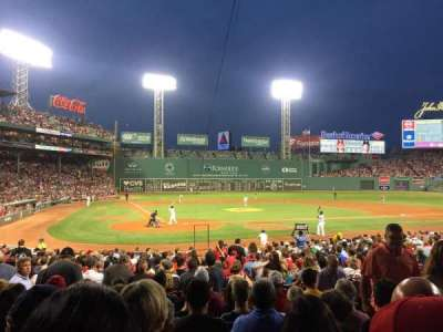 Fenway Park, section: B125, row: Gg, seat: 6