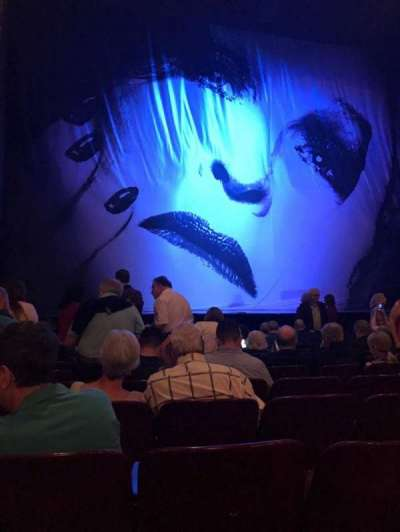 Palace Theatre (Broadway), section: Orchestra, row: K, seat: 115