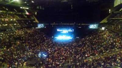 Prudential Center, section: 105, row: 4, seat: 2