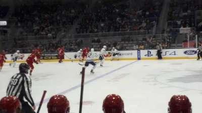Ricoh Coliseum, section: 100, row: FF, seat: 13