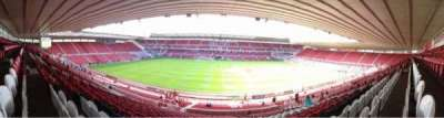 Riverside Stadium, section: 41, row: 30, seat: 133