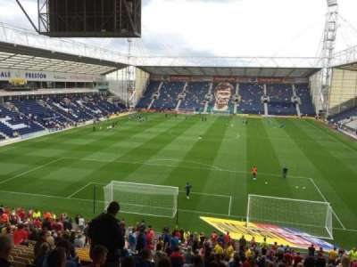 Deepdale, section: M, row: 32, seat: 67