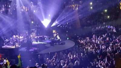 Madison Square Garden, section: 116, row: 17, seat: 14