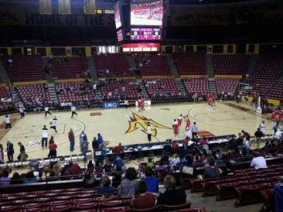 Wells Fargo Arena (Tempe), section: G, row: 17