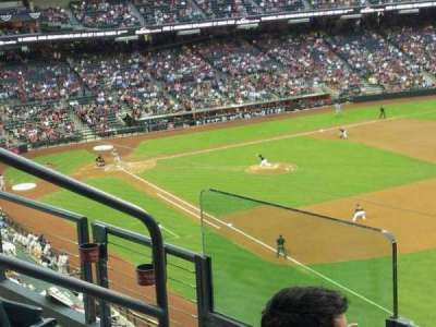 Chase Field, section: 303, row: 3, seat: 5