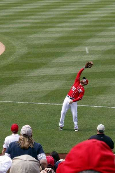 Nationals Park, section: 132, row: E, seat: 6