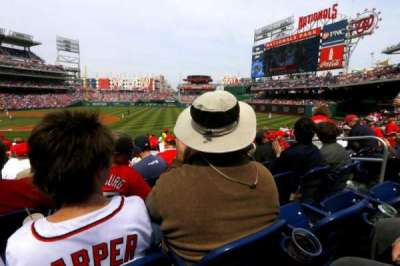 Nationals Park, section: 132, row: J, seat: 4