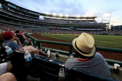 Nationals Park, section: 135, row: E, seat: 6