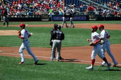 Nationals Park, section: 133, row: P, seat: 16