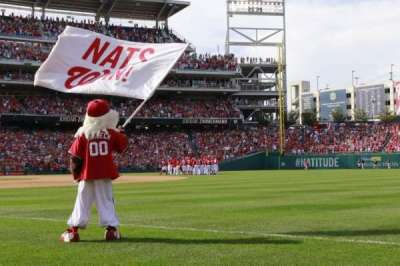 Nationals Park, section: 134, row: G, seat: 7