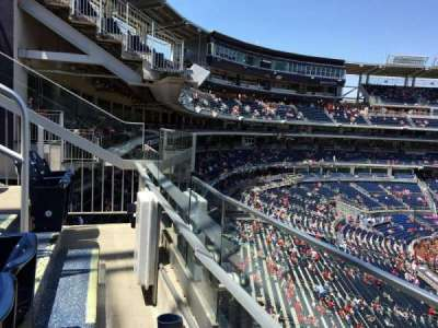 Nationals Park, section: 222, row: A, seat: 1