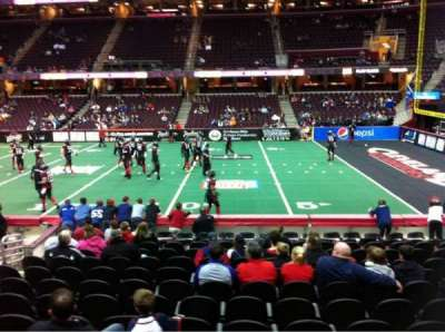 Quicken Loans Arena, section: 128, row: 11, seat: 10