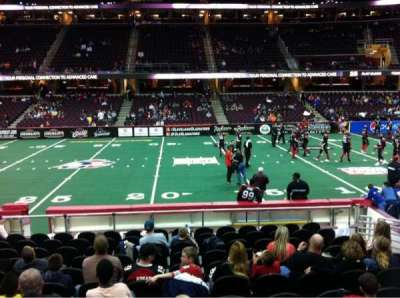 Quicken Loans Arena, section: 127, row: 14, seat: 10