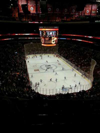 Wells Fargo Center section 206