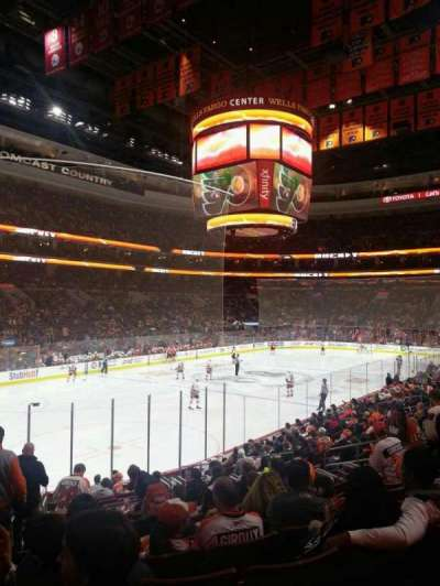 Wells Fargo Center section 117