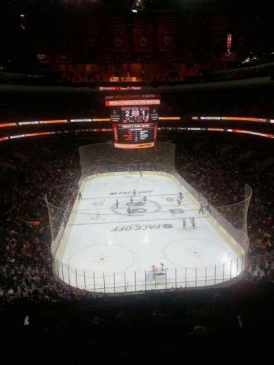 Wells Fargo Center section 207
